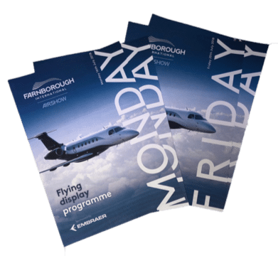 Farnborough Air Show Print Leaflets