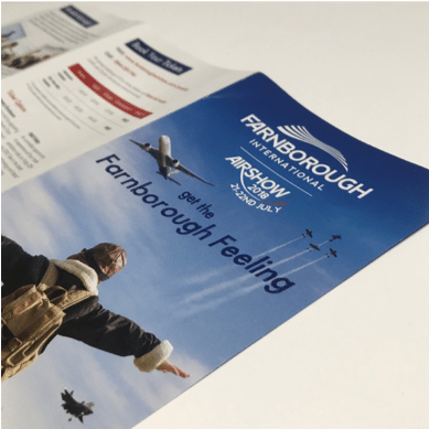 Farnborough Air Show Print
