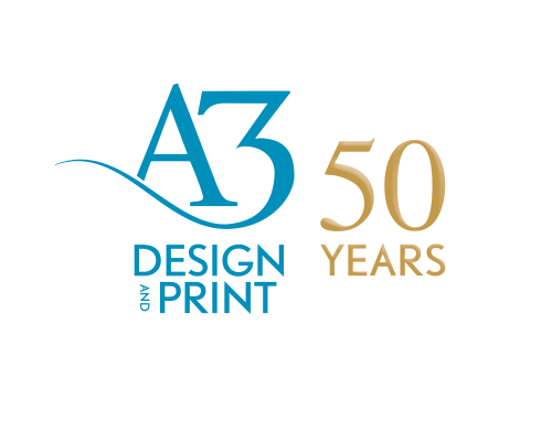 Celebrating 50 Years of A3 Design & Print!