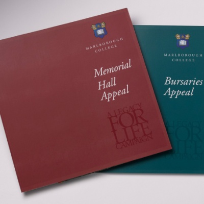 Memorial Hall & Bursaries<br>Layflat Brochure