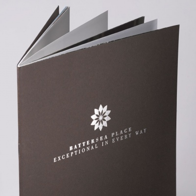 Battersea Place<br>Saddle Stitched Brochure