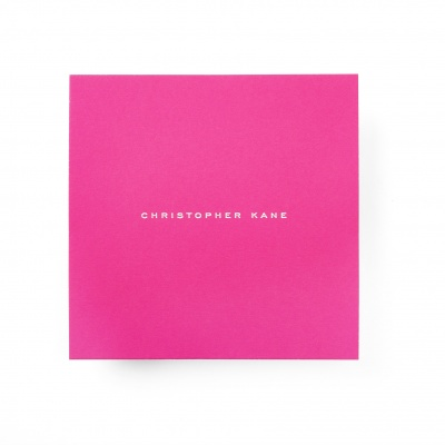 Christopher Kane<br>Invite and Envelope