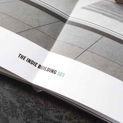 The Indie Building<br>Layflat Brochure