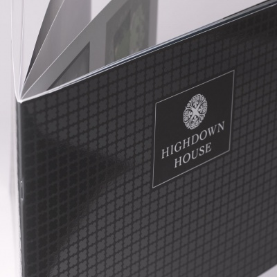 Highdown House<br>Saddle Stitched Brochure