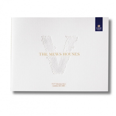 The Mews Houses<br>Singer Sewn Brochure
