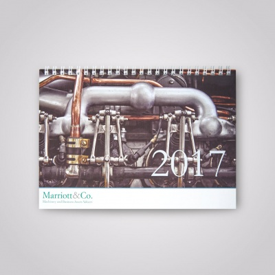 Marriott & Co.<br>Desk Calendar