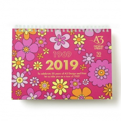 A3 Design and Print<br>Desk Calendar