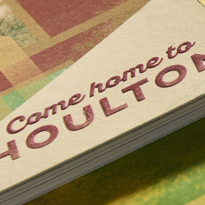 Come Home to Houlton<br>Singer Sewn Brochure
