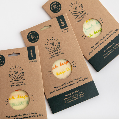 The Vegan Food Wrap Co. Sleeves